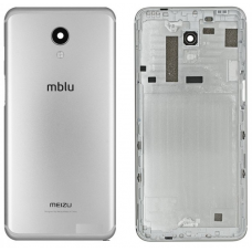 Задняя крышка/корпус Meizu M6S серебряный