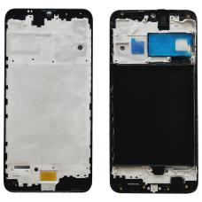 Рамка дисплея для Samsung A105F (A10) Черная