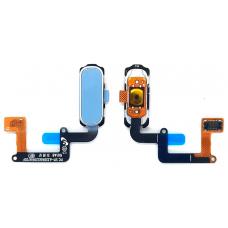 Шлейф кнопки Home Samsung Galaxy A320F / A520F / A720F голубой