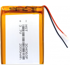Аккумулятор Универсальный 3.0*40*60 mm 3.7v 2000mAh ( 304060P )