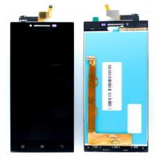 Дисплей с тачскрином Lenovo P70 черный