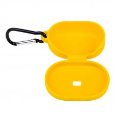 Силиконовый чехол для Redmi AirDots с карабином (желтый/европакет) 12