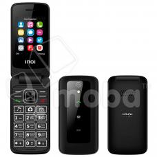 Сотовый телефон INOI 245R (раскладушка с двумя экранами) Черный