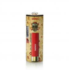 Внешний аккумулятор (АКБ) Power Bank REMAX Shell Series 2500 mAh RPL-18 Li-ion 1 А (красный)