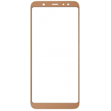 Стекло для дисплея Samsung Galaxy A6 Plus 2018 ( SM-A605 ) золотое