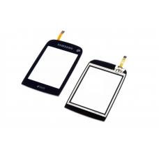 Сенсорное стекло,Тачскрин Samsung C3262 Black (Original)