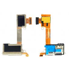 Шлейф Sim-держателя Sony Xperia M2 D2303
