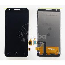 Дисплей для Alcatel OT-4027D/OT-5017D/OT-5017X/OT-5019D (Pixi 3) в сборе с тачскрином Черный