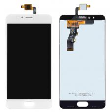 Дисплей с тачскрином Meizu M5S белый