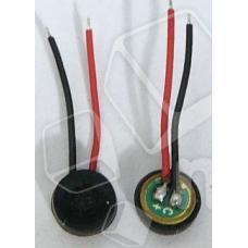 Микрофон универсальный (4мм. тонкий с проводами)