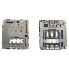 Коннектор Sim-карты Sony Xperia M2 D2303
