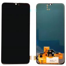 Дисплей с тачскрином Realme XT / X2 черный OLED