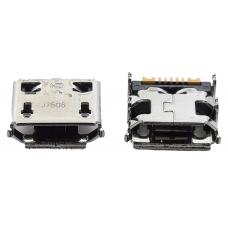 Разъем зарядки Samsung C3222/S5570/C3560/S3850/E2530/E2600/C3750/C3752/B7350