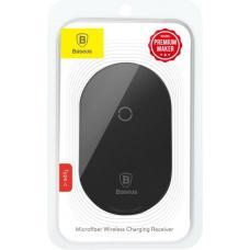 Модуль приема беспроводной зарядки Baseus Microfiber QI Wireless Charging Receiver Type-C (WXTE-B01, WXTE-A01, WXTE-C01) (black)