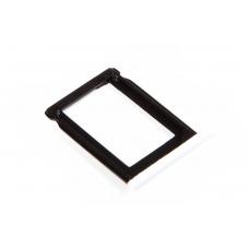 SIM лоток (Держатель сим карты) Apple IPhone 3G/3GS White (I82)