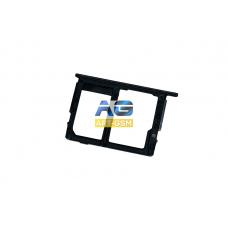 SIM лоток (Держатель сим карты) Samsung Galaxy J5 Prime/ON5/ON7 G570 Black