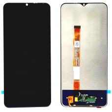 Дисплей с тачскрином для Vivo Y30 черный оригинал
