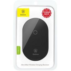 Модуль приема беспроводной зарядки Baseus Microfiber QI Wireless Charging Receiver Micro (WXTE-C01, WXTE-B01,WXTE-A01) (black)