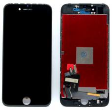 Дисплей с тачскрином для iPhone 7 черный AAA