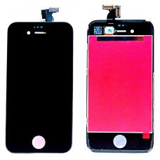 Дисплей с тачскрином для iPhone 4 черный оригинал