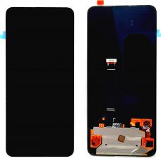 Дисплей с тачскрином OPPO Reno 2 черный OLED