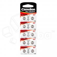 Батарейка Camelion G7/LR926/LR57/395A/195 Alkaline 1.5V (10 шт. в блистере)