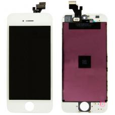 Дисплей с тачскрином для iPhone 5 белый AAA