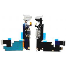 Шлейф зарядки для iPhone 6 Plus черный