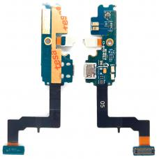 Шлейф зарядки Samsung Galaxy S2 Plus i9105 / микрофон