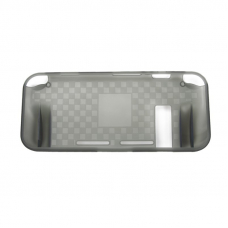 Чехол кейс для Nintendo Switch TPU Case SND-406 (прозрачный черный)