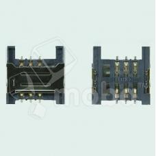 Коннектор SIM для Micromax Q346/Q341/Q327/Q414/Q326/S303/X249+/D306/Q333/Q334/X401/X352/X2050/X1800