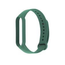 Браслет для фитнес трекера Mi Band 5 (темно-зеленый)