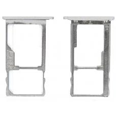 Лоток Sim-карты Meizu M3 Note/M3S mini серебряный