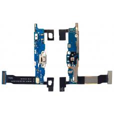 Шлейф зарядки Samsung Galaxy Note 4 N910F /микрофон