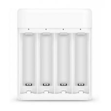 Зарядное устройство Xiaomi ZMI PB401, для 4 аккумуляторов, AA/AAA (white)