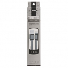 USB кабель REMAX Breathe Series Cable RC-029i Apple Lightning 8-pin (черный)