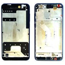 Рамка дисплея для Huawei Honor 8 Lite (PRA-TL10) / P8 Lite 2017 (ALE-L21) / P9 Lite 2017 синяя