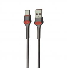 USB кабель Earldom EC-082C USB Type-C 1 метр (черный)