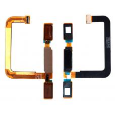 Шлейф кнопки Home Nokia 6 TA-1000 / TA-1003 / TA-1021 / TA-1025 черный