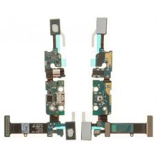 Шлейф зарядки Samsung Galaxy Note 5 SM-N920C / разъем гарнитуры / микрофон