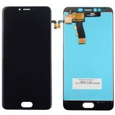 Дисплей с тачскрином Meizu M5 черный