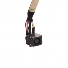 Разъем питания нотбука PJ201 (4 pin + 3 pin) с кабелем (HP)