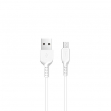 Кабель USB - micro USB HOCO X20 (3м.) белый