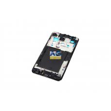 Корпусной часть (Корпус) Samsung I9100 Galaxy S2 рамка дисплея Black