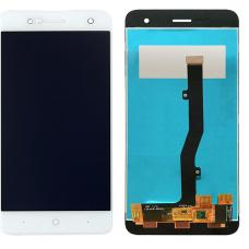 Дисплей с тачскрином ZTE Blade V8 mini белый