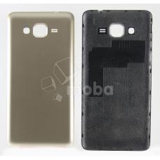 Задняя крышка для Samsung G530H/G531H (Grand Prime/Grand Prime VE Duos) Золото