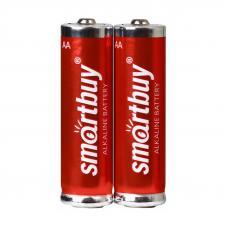 Батарейка алкалиновая Smartbuy LR6 AA 2шт в блистере