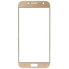 Стекло для дисплея Samsung Galaxy J7 (2017) SM-J730 золотое
