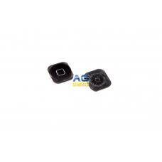 Кнопка Home Apple Iphone 5 black ( I33 )