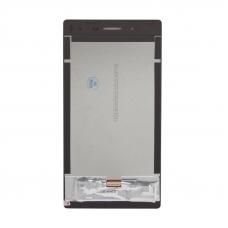 LCD дисплей для Lenovo Tab 3 730X в сборе с тачскрином (черный)